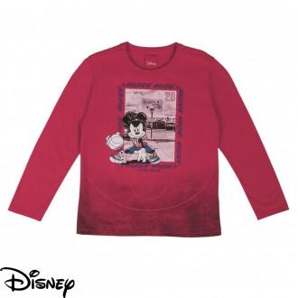 Imagem - Camiseta Masculina Meia Malha Disney - Cativa - 10675_4771-VERMELHO