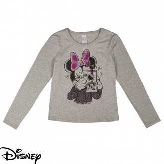 Blusa Meia Malha Feminino Infantil Disney - Cativa