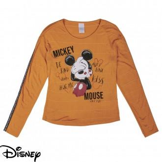 Blusa Mickey Juvenil Disney - Cativa