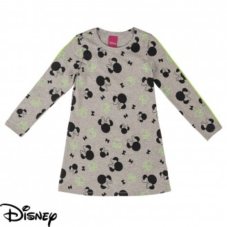 Vestido de Cotton Feminino Infantil Disney - Cativa