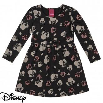 Imagem - Vestido de Cotton Feminino Infantil Disney - Cativa - 10680_9003-PRETO