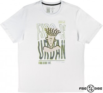 Camiseta Malha Masculino Adulto Fido Dido - Cativa