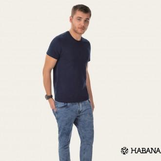 Imagem - Camiseta Masculina Básica Cativa - Habana - 584676_6022-MARINHO