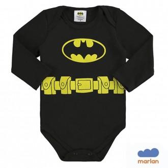Imagem - Body Masculino Batman Infantil Sudiene Marlan - 494246_PT0001-PRETO