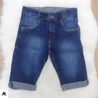 Imagem - Bermuda Jeans Masculino M.K.Galone - 880852_JEANS-JEANS