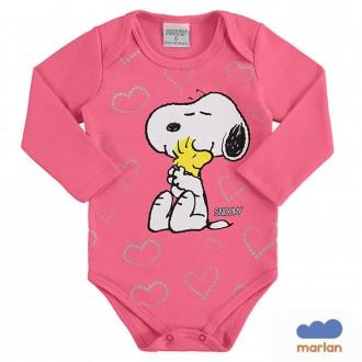 Body Snoopy Feminino Infantil Penuts - Marlan