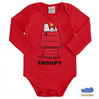 Body Sudiene Snoopy Infantil Marlan