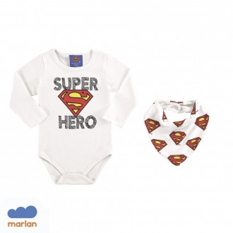 Body Super Man C/ Babador Marlan