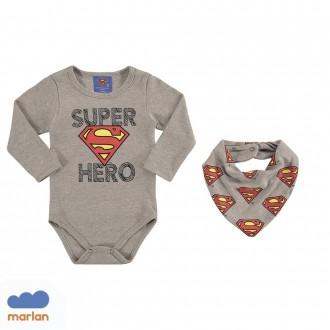 Body Super Man C/ Babador Marlan