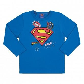 Camiseta superman infantil masculina - Marlan