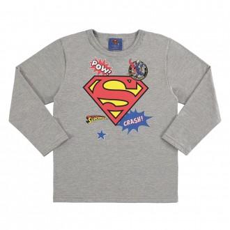 Imagem - Camiseta superman infantil masculina - Marlan - 494155_CZ0017-MESCLA STONE