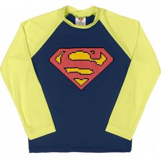 Camiseta Superman Tecnologia UV e DRY Masculino Infantil Marlan
