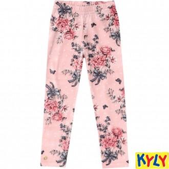 Calça legging de Cotton Estampado Milon - Kyly