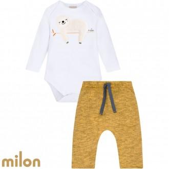 Conjunto Body Masculino Infantil Kyly - Milon