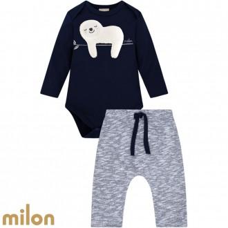 Imagem - Conjunto Body Masculino Infantil Kyly - Milon - 420919_6826-AZUL MARINHO