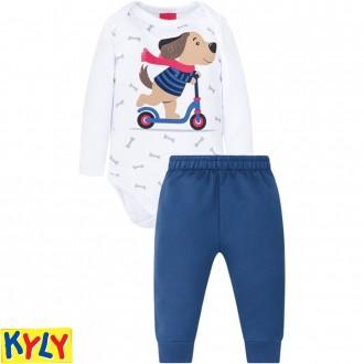 Conjunto Body Masculino Infantil C/ Moletom Kyly