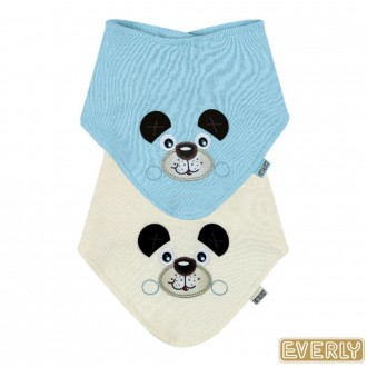 KIT C/ 02 Babador Bandana Masculino Everly