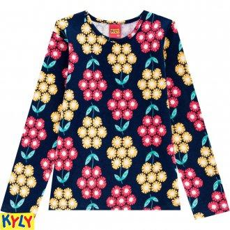 Imagem - Blusa cotton - KYLY - 1031846_6805-AZUL ATLANTICO