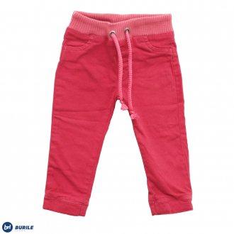 Imagem - Calça de sarja rosa - BURILE - 1410037_ROSA CHICLETE-ROSA CHICLETE