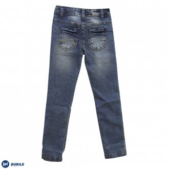 Imagem - Calça jeans básica - BURILE - 1410033_JEANS-JEANS