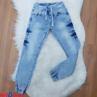 Imagem - Calça Jeans Masculino Infantil Ket Bros - 1008076_JEANS-JEANS