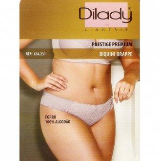 Calcinha Biquini Plus Size Drappe Dilady