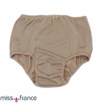 Calcinha Picueta em Microfibra Acetinada Miss France