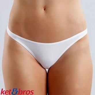 Imagem - Calcinha Tanga Cotton Ket Bros Lingerie - KB-5214_PER