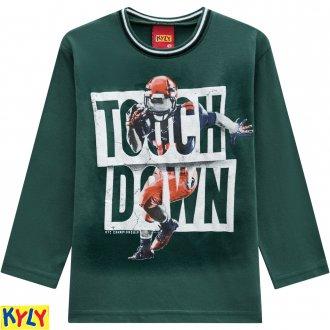 Imagem - Camiseta manga longa - KYLY - 1031886_70157-VERDE FOLHA