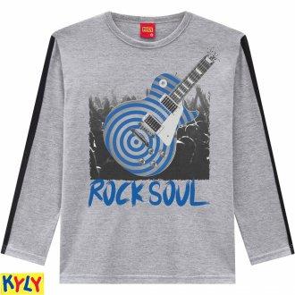 Imagem - Camiseta manga longa - Kyly - 1031890_0020-MESCLA