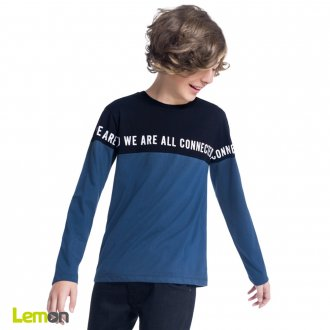 Camiseta manga longa - LEMON