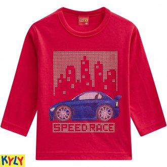 Imagem - Camiseta manga longa meia malha - KYLY - 1031879_4372-VERMELHO