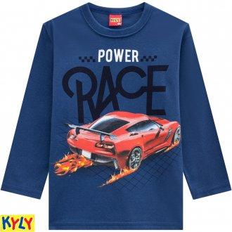 Camiseta meia malha -KYLY