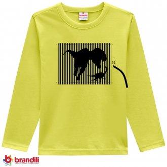 Imagem - Camiseta Meia Malha Masculina Infantil Brandili - 931273_1194-VERDE LIMAO