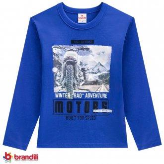 Imagem - Camiseta Meia Malha Masculina Infantil Brandili - 931269_2942-ROYAL