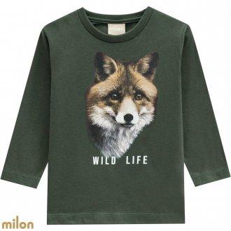 Camiseta meia malha - MILON