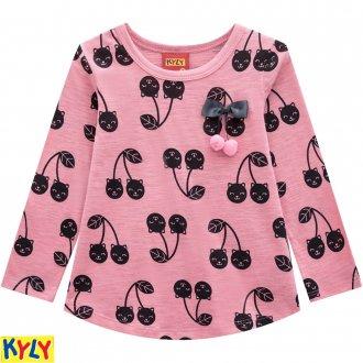 Conjunto blusa e legging com saia - KYLY