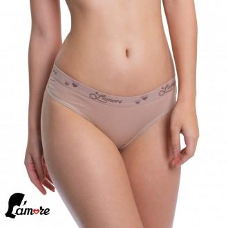 Imagem - Kit c/ 3 Tangas de Cotton Lamore - 47197_CHOCOLATE