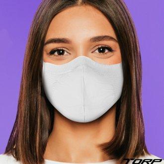 Imagem - KIT Com 8 Máscaras Antiviral Virus BAC-OFF Torp - 360172_BRANCO-BRANCO