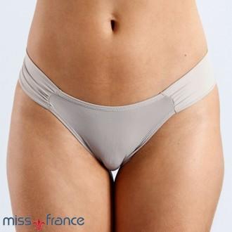 Imagem - Calcinha Tanga Borboleta em Microfibra Miss France - 520153_CHOCOLATE