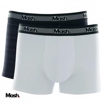 Kit com Duas Cuecas Boxer Mash