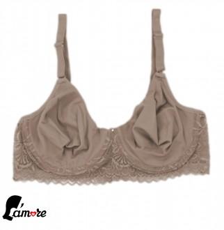 Imagem - Sutiã com detalhes rendado Lamore - 47089_CHOCOLATE