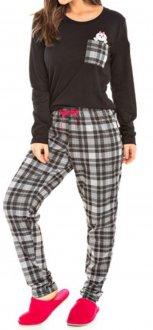 Imagem - Pijama Feminino Bela Notte - 1049031_preto