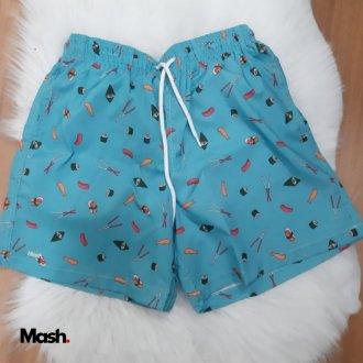 Imagem - Shorts Masculino Adulto - Mash Praia - 1736278_AZ00-AZUL