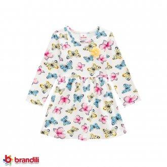 Imagem - Vestido Cotton Feminino Infantil Brandili - 931285_0945-OFF WHITE