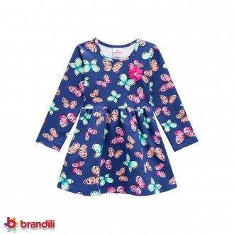 Vestido Cotton Feminino Infantil Brandili