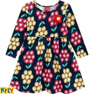 Vestido Meia Malha Feminina Kyly