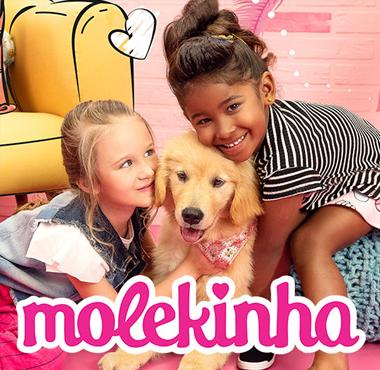 Veja produtos da marca Molekinha