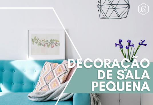 Imagem - Decoração Eficiente Para Sala Pequena