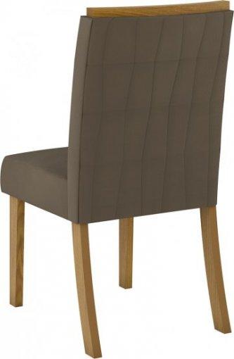 Conjunto 02 Cadeiras Henn Tauá Nature/Bege